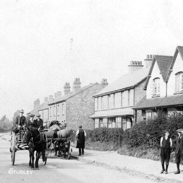 Studley.  Birmingham Road