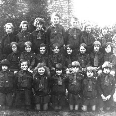 Long Itchington.  Girl Guides