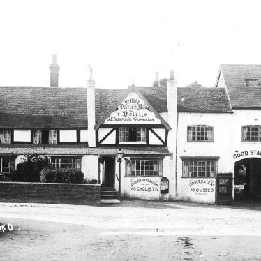 Studley.  Olde Barley Mow Hotel