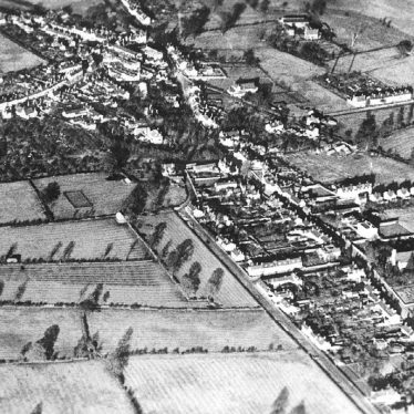 Studley.  Aerial view