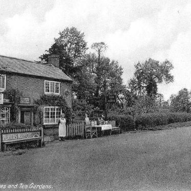 Mappleborough Green.  Stores and tea gardens