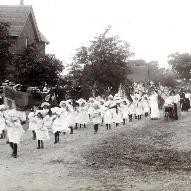 Coleshill.  George V coronation celebrations