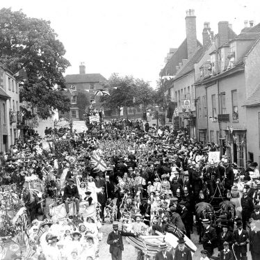 Coleshill.  George V coronation celebrations