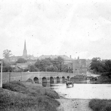 Coleshill.  Medieval bridge and ford