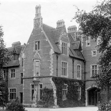 Coleshill.  Hall.