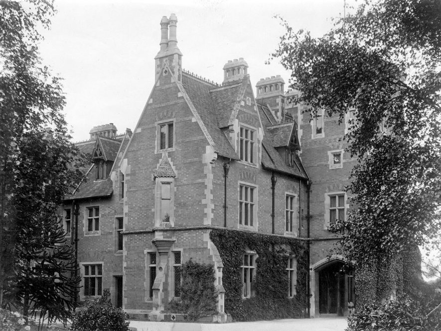 Coleshill Hall.  1878 |  IMAGE LOCATION: (Coleshill Library)