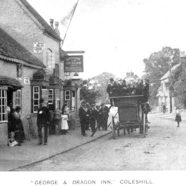 Coleshill.  George & Dragon Inn