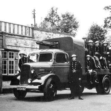 Coleshill.  Auxiliary Fire Brigade
