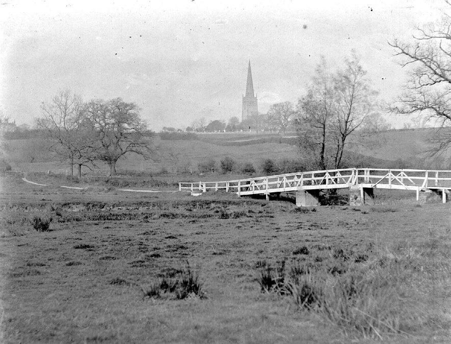 Cuttle Bridge, Coleshill.  1920s |  IMAGE LOCATION: (Coleshill Library)