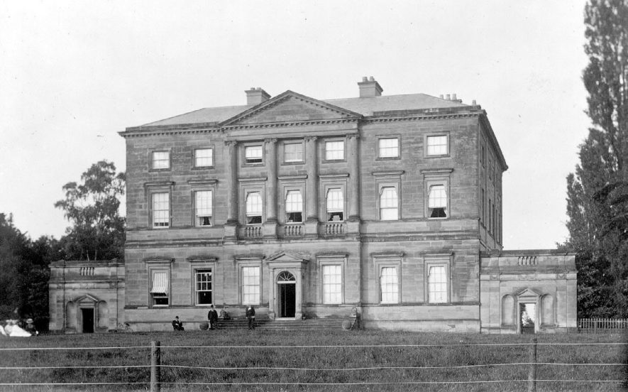 Hams Hall, Lea Marston.  1900 |  IMAGE LOCATION: (Coleshill Library)