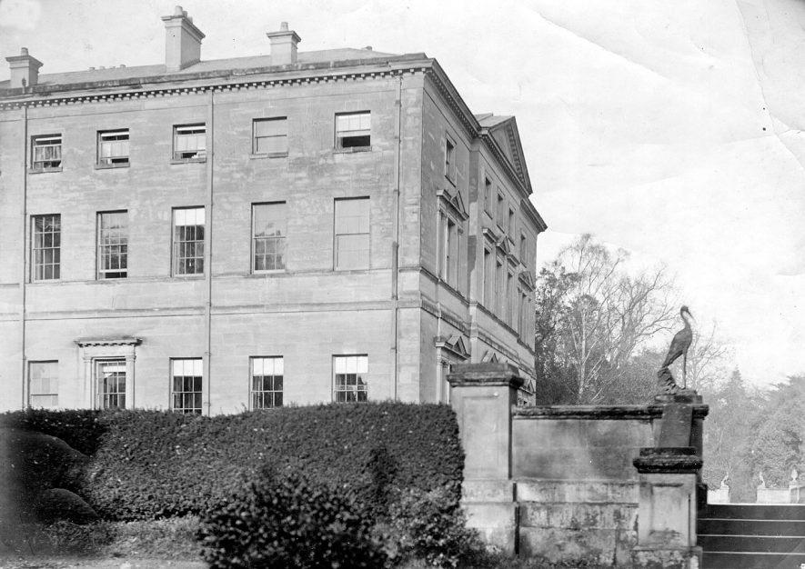 Hams Hall, Lea Marston.  1900    IMAGE LOCATION: (Coleshill Library)
