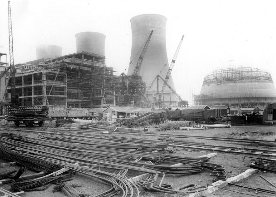 Hams Hall Power Station, Lea Marston.  1947 |  IMAGE LOCATION: (Coleshill Library)