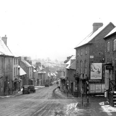 Coleshill.  High Street and Blythe Road Crossing