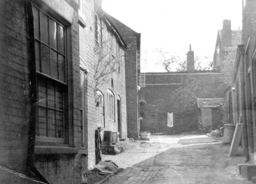 Clock Yard, High Street, Coleshill, home of