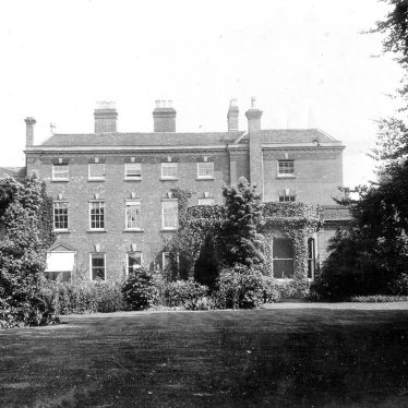 Coleshill.  Old Vicarage