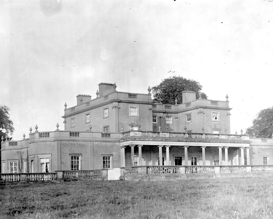 Moxhall Hall, Wishaw.  1900s |  IMAGE LOCATION: (Coleshill Library)