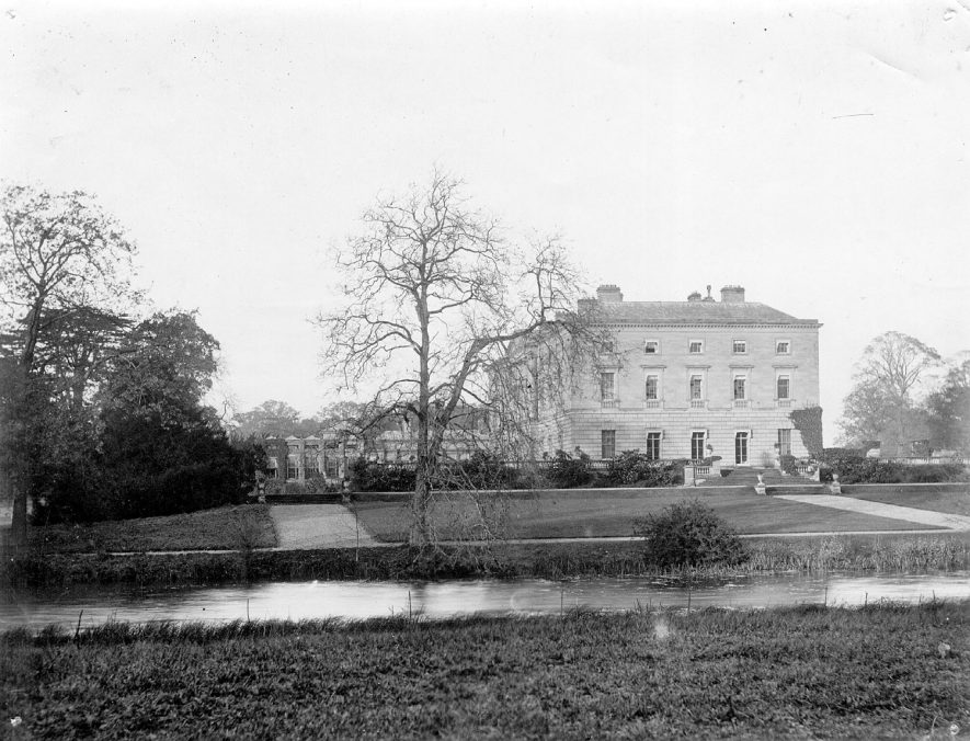 Packington Hall and grounds, Great Packington. 1950s |  IMAGE LOCATION: (Coleshill Library)