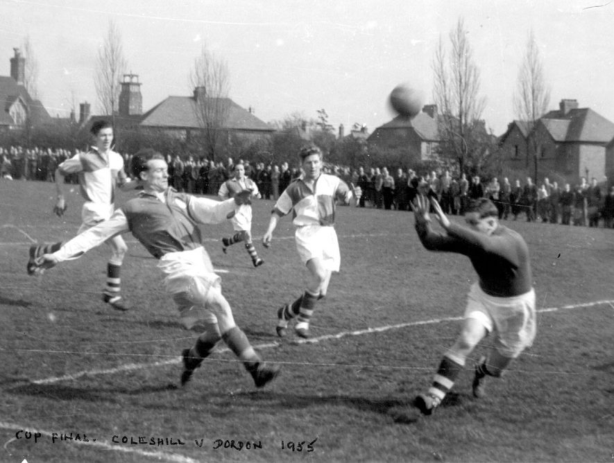 Coleshill v. Dordon Cup Final football match, Coleshill.  1955 |  IMAGE LOCATION: (Coleshill Library)