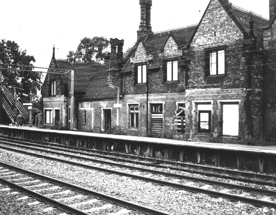 Atherstone railway station.  1960s |  IMAGE LOCATION: (Atherstone Library)