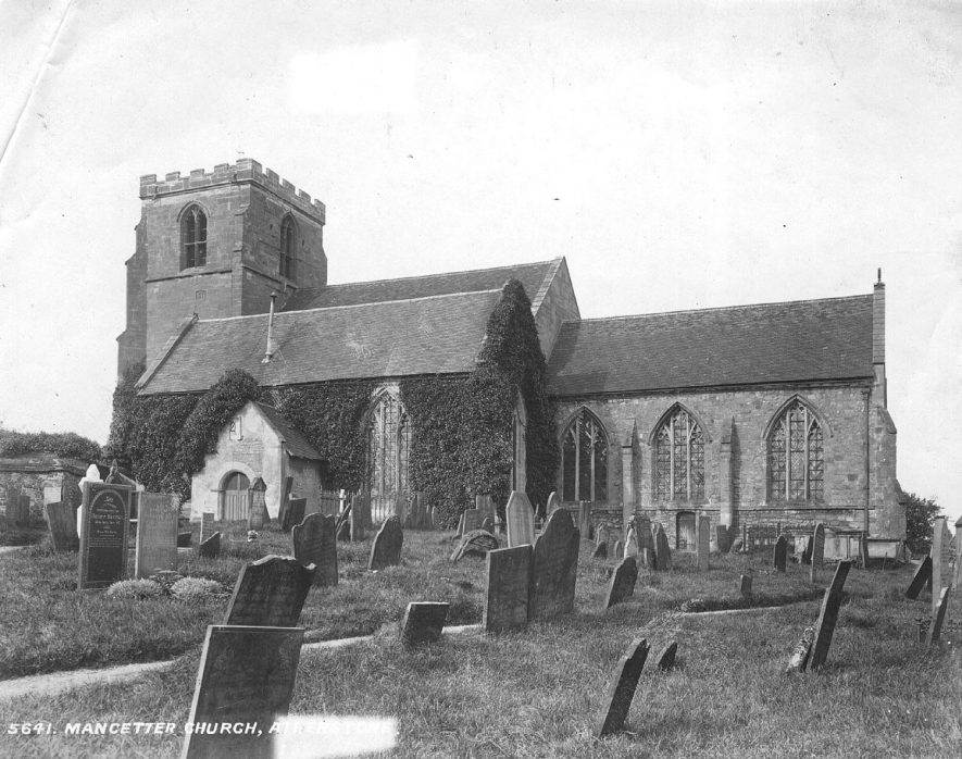 Mancetter church.  1920s |  IMAGE LOCATION: (Atherstone Library)