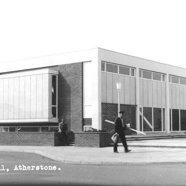 Atherstone.  Memorial Hall
