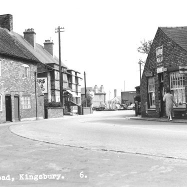 Kingsbury.  Tamworth Road