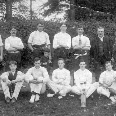 Baddesley Ensor.  Cricket Team
