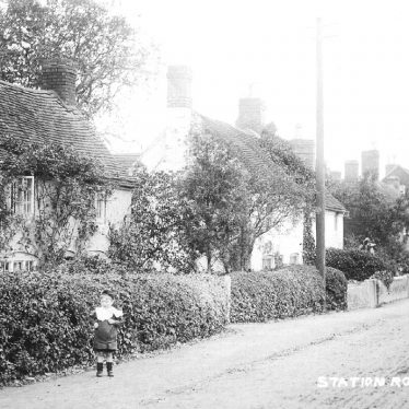 Studley.  Station Road