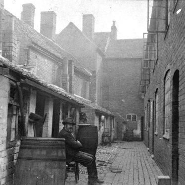 Atherstone.  Cleobury's Buildings