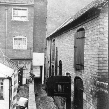 Atherstone.  Ford's Yard & Wiln's slaughterhouse