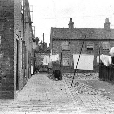 Atherstone.  Clarke's Yard