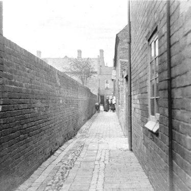Atherstone.  Woodman Yard