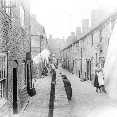 Atherstone.  Druid's Arms Yard
