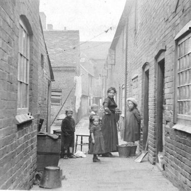 Atherstone.  Hand and Bottle Yard
