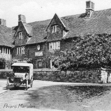 Priors Marston.  Falcon Inn
