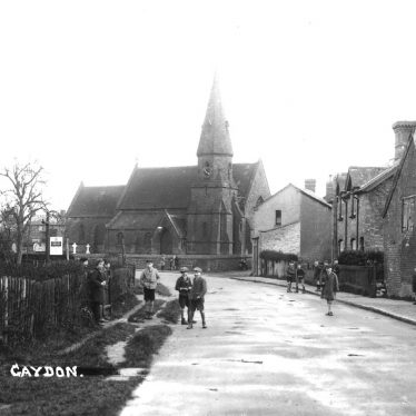 Gaydon.  Village view