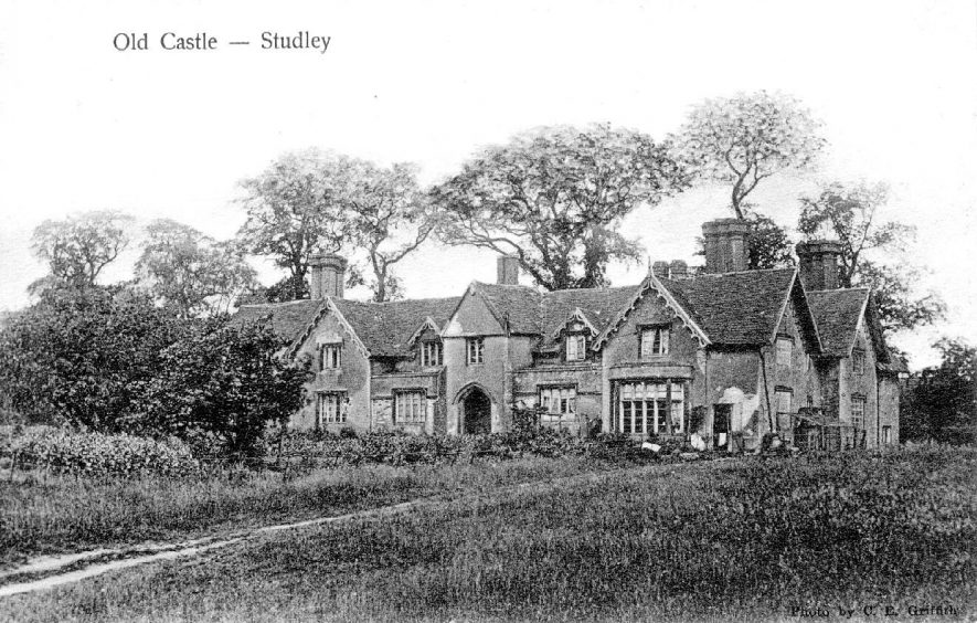 The Old Castle, Studley.  1900s |  IMAGE LOCATION: (Warwickshire County Record Office)
