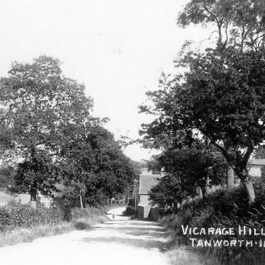 Tanworth in Arden.  Vicarage Hill