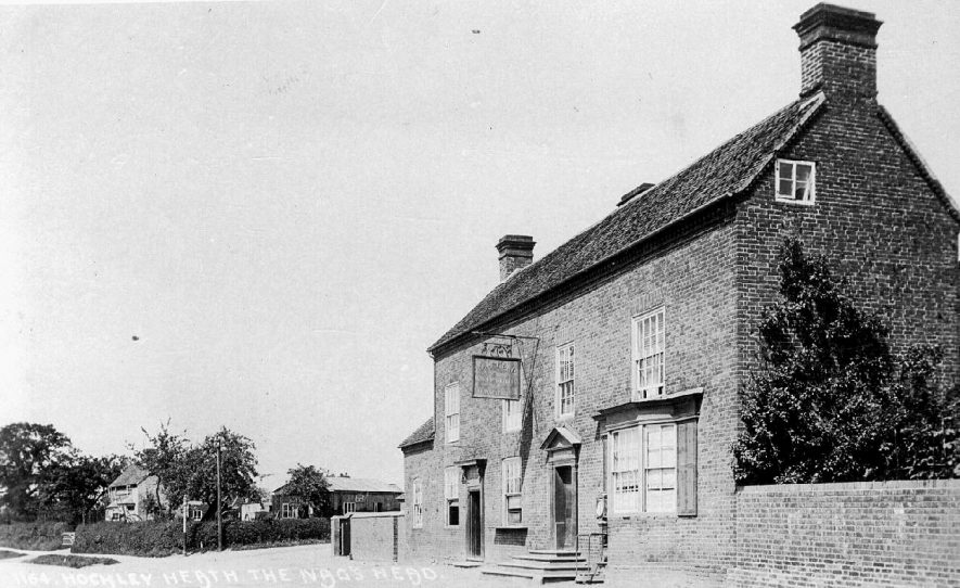 The Nag's Head public house, Hockley Heath.  1910s |  IMAGE LOCATION: (Warwickshire County Record Office)