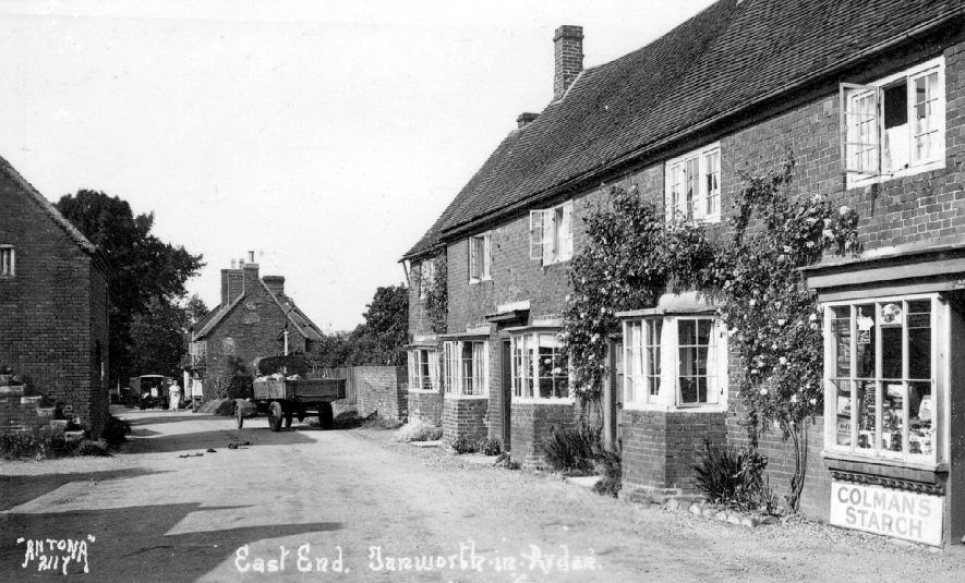 Village street known as East End (no longer in existence), Tanworth-in-Arden.  1930s |  IMAGE LOCATION: (Warwickshire County Record Office)