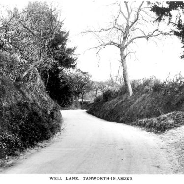Tanworth in Arden.  Well Lane