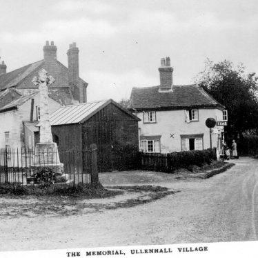Ullenhall.  Memorial