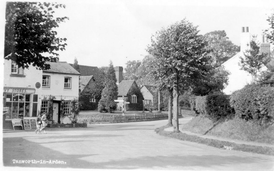 General view of part of Tanworth-in-Arden. 1960s |  IMAGE LOCATION: (Warwickshire County Record Office)