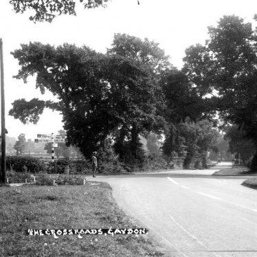 Gaydon.  Crossroads