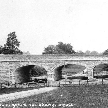 Tanworth in Arden.  Railway bridge