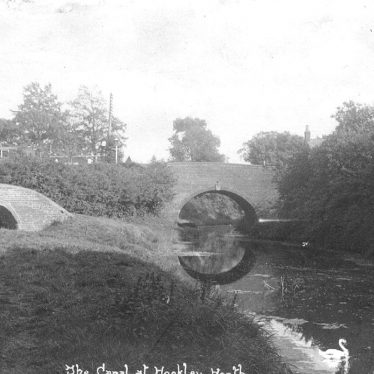 Hockley Heath.  Canal and bridge