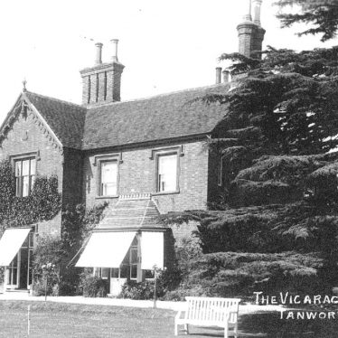 Tanworth in Arden.  Vicarage