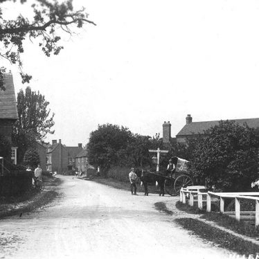 Ullenhall.  Village view