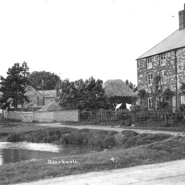 Blackwell.  Village scene