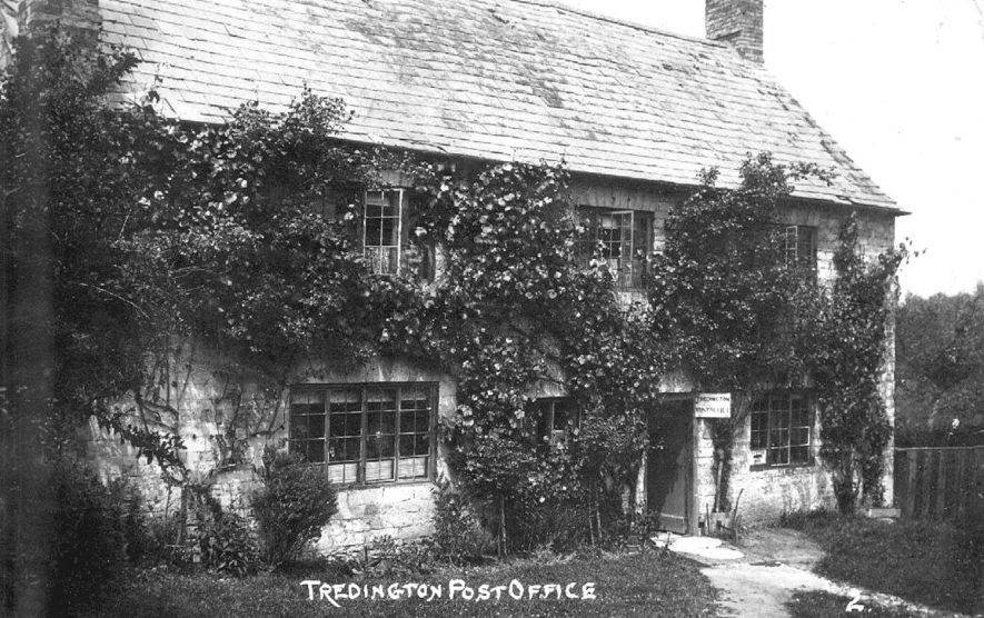 Tredington Post Office.  1910s |  IMAGE LOCATION: (Warwickshire County Record Office)